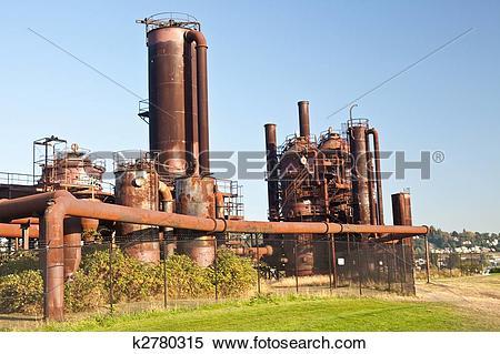 Stock Image of Gasworks Park k2780315.