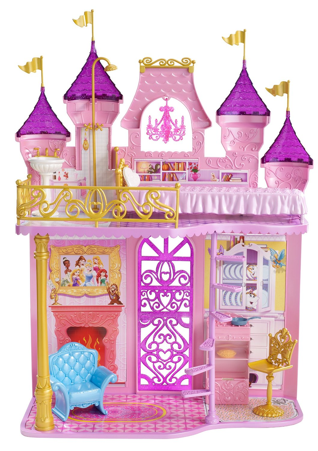 Amazon.com: Disney Princess Royal Castle: Toys & Games.