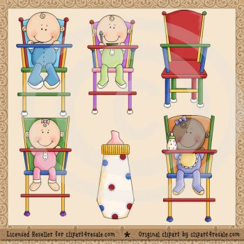 Baby's Lunch by Clipart 4 Resale (formerly Whimsy Primsy).