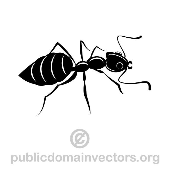 FORMICA VECTOR CLIPART IMAGE.
