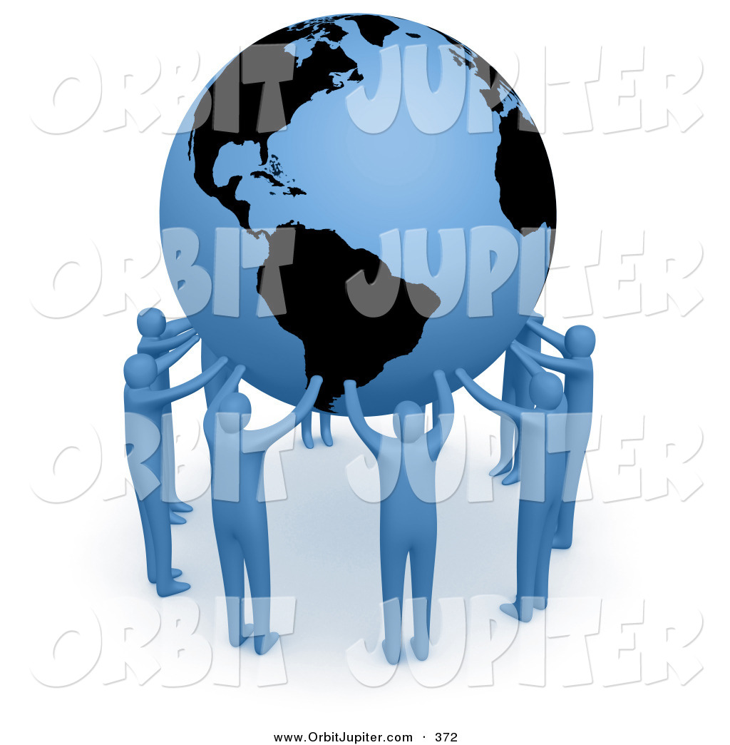 People Forming Union Clipart.