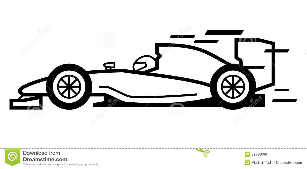 Car Formula 1 Stock Photo.