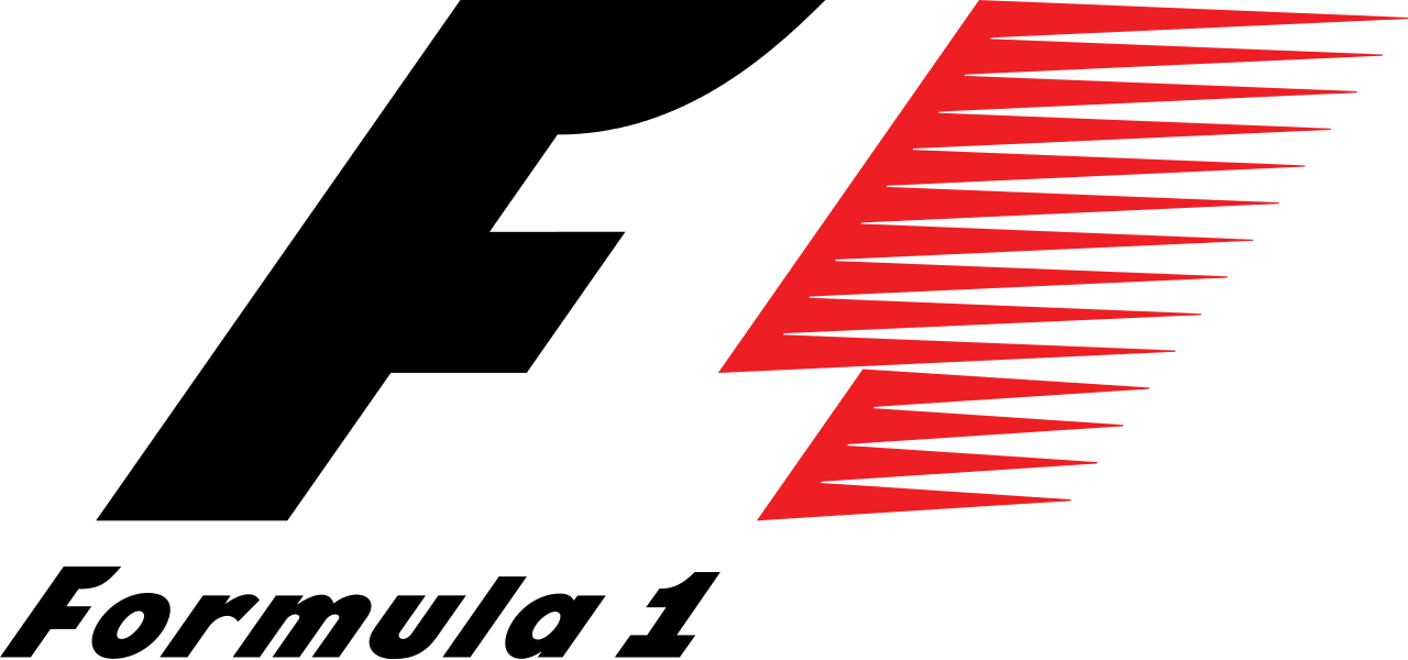 Formula 1 Logo transparent PNG.