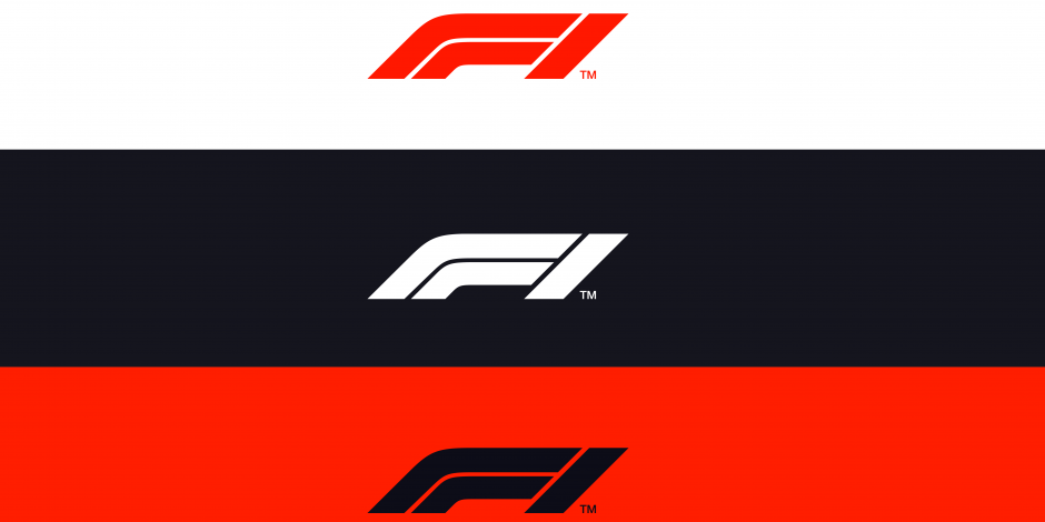 Despite criticism, Formula One stands by its restyled logo.