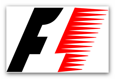 The Formula 1 logo explained.