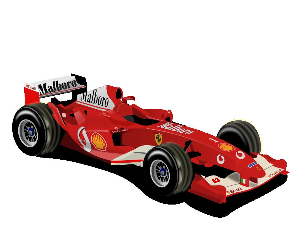 Formula 1 PNG Image.