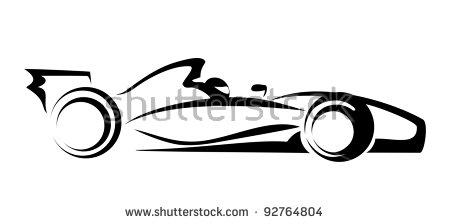 Formula One Car Stock Vectors, Images & Vector Art.