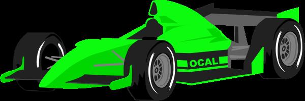 Race car formula one car vector clip art image #41230.