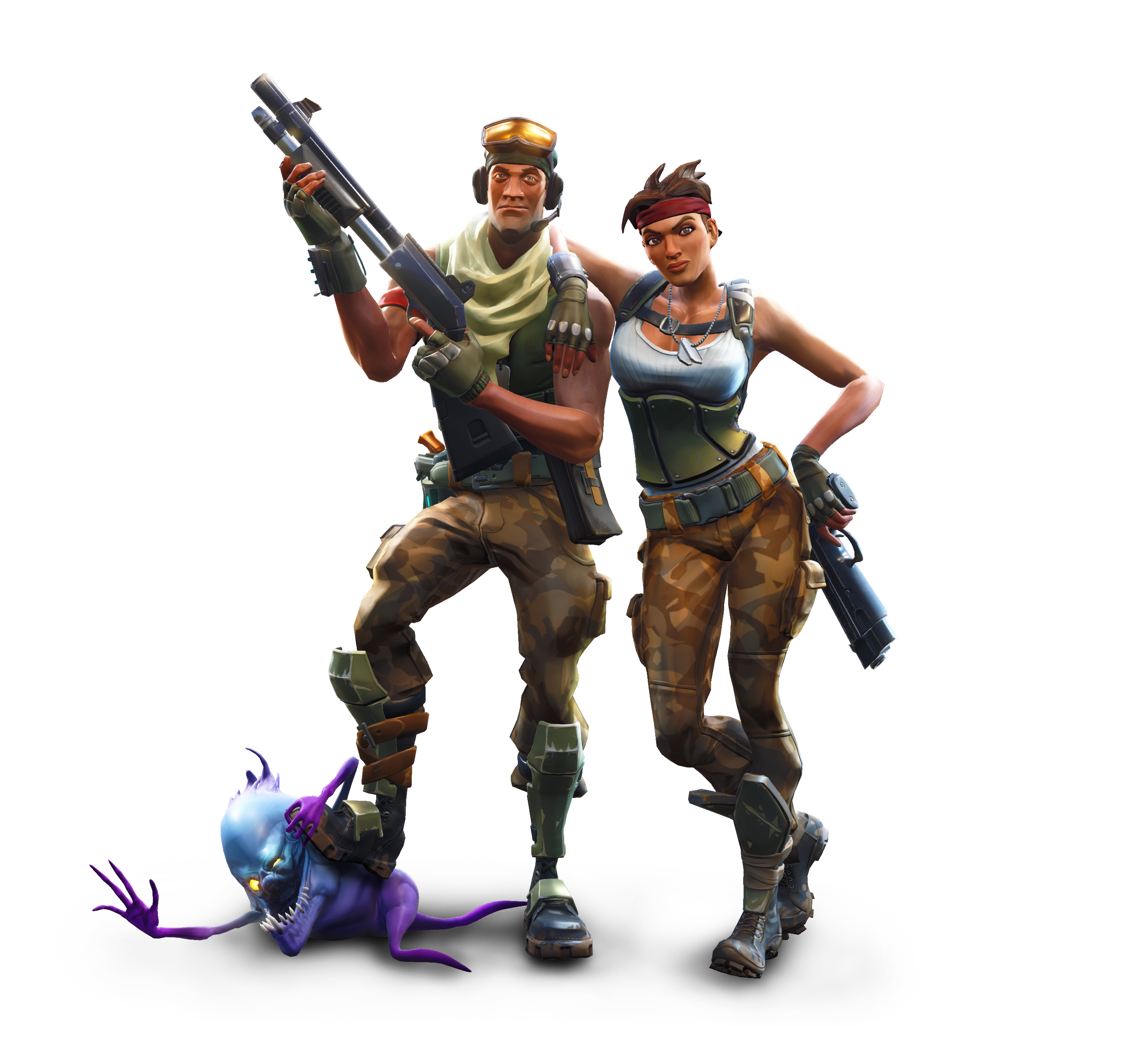 Fortnite Battle Royale Champs PNG Image.