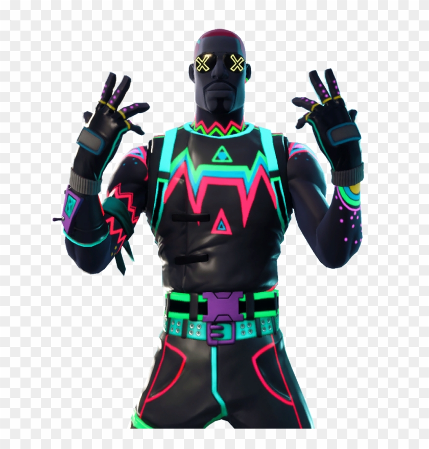 Lite Show Skin Fortnite, HD Png Download.