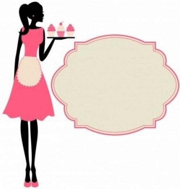 Clip Art Lady Bakery Clipart.