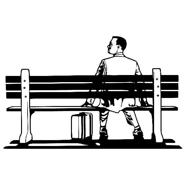 Forrest Gump Clipart Activity 2231.