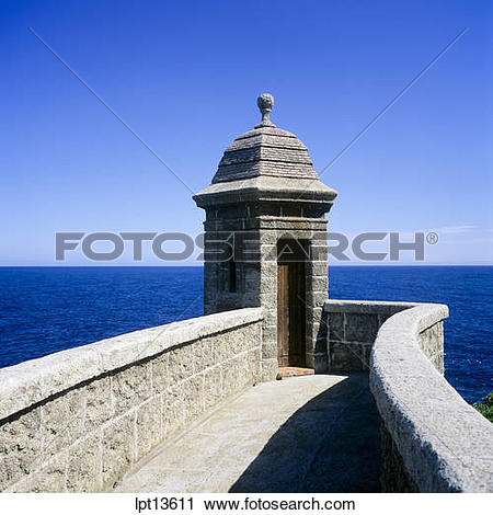Stock Photography of FORT ANTOINE WATCHTOWER LA CONDAMINE AND.