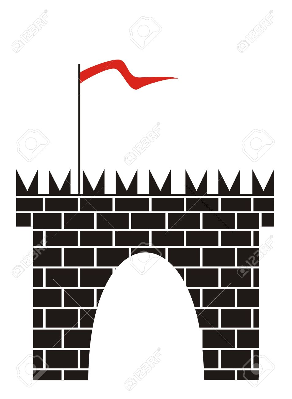 Fort Wall Clipart.