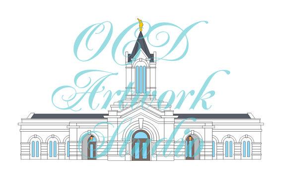 Fort Collins Artwork Vector Clipart svg pdf by OCDArtworkStudio.