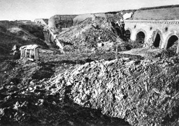 Les Français à Verdun.