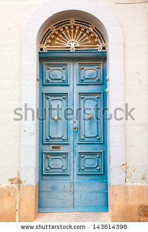 Carved On The Door Stock Photos, Royalty.
