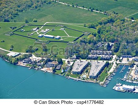 Pictures of Fort George Niagara.