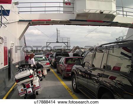 Stock Photo of Fort George Island, FL, Florida, Atlantic Ocean.