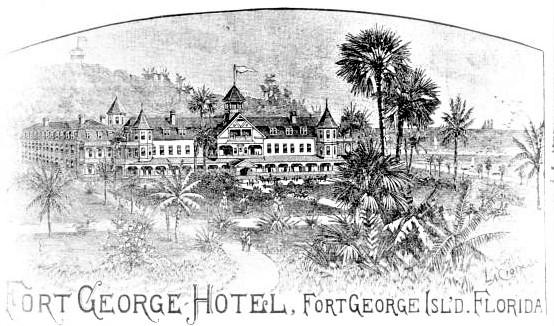 Fort George Island Crypts.