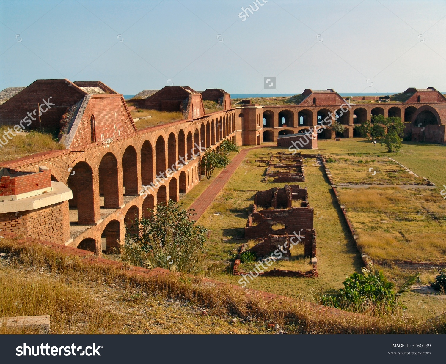 Fort Jefferson National Park Dry Tortugas Stock Photo 3060039.