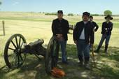 Stock Photograph of Fort Laramie, WY, Wyoming, Fort Laramie.