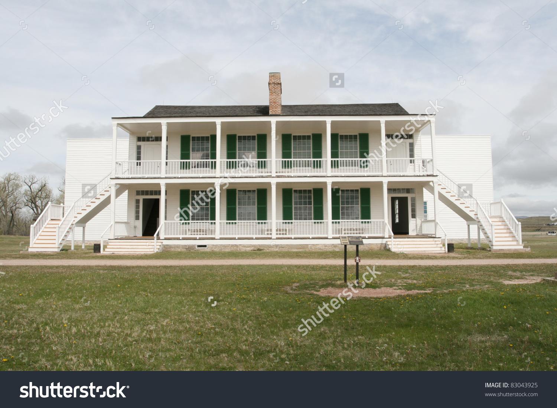 Old Bedlam, Fort Laramie, Wyoming Stock Photo 83043925 : Shutterstock.