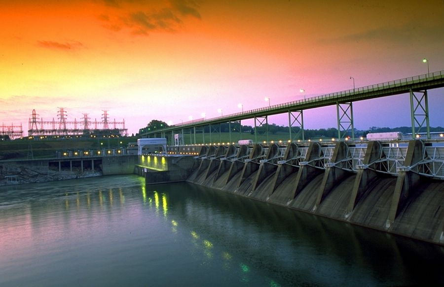 Free Photos: Fort Loudoun Dam, Lenoir City, Tennessee.