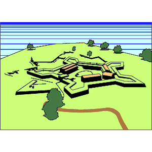 Fort McHenry clipart, cliparts of Fort McHenry free download (wmf.