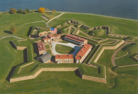 THE STAR SPANGLED BANNER STORY: The Defense of Fort McHenry, by.