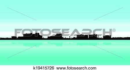 Clip Art of Fort Myers, Florida k19415726.