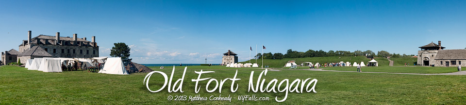 Fort Niagara State Park and Historic Site.