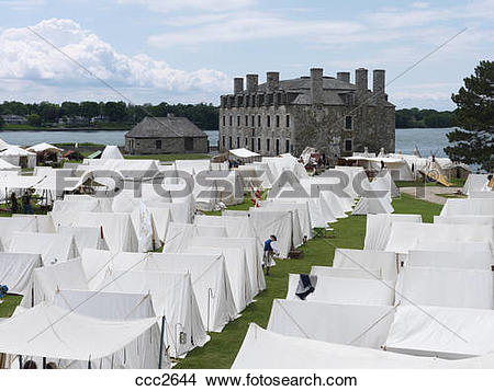 Stock Photo of USA,New York,Youngstown,Old Fort Niagara (1679.