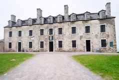 Fort Niagara Winter Day Royalty Free Stock Photography.