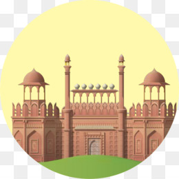 Red Fort png free download.