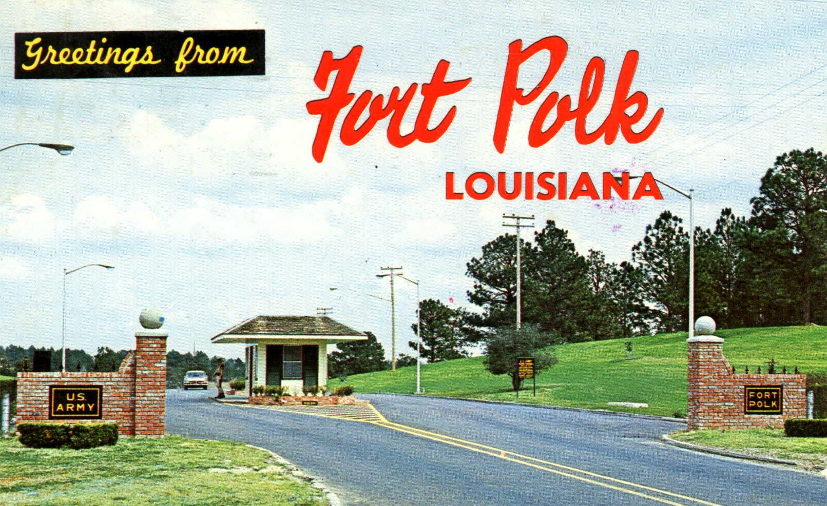 Fort Polk.