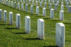 Fort Rosecrans National Cemetery Stock Photo.
