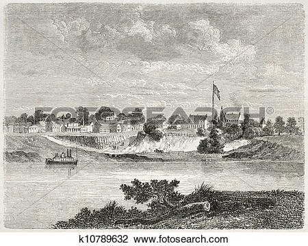 Clip Art of Fort Smith k10789632.