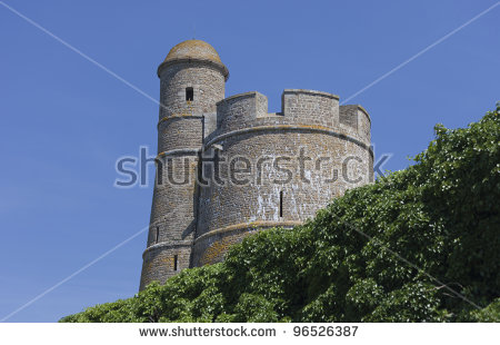Old Watch Tower Stock Images, Royalty.