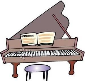 Piano clip art clipart.