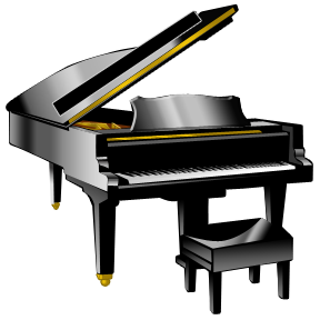 Piano clipart etc.