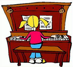 Free Piano Clipart.