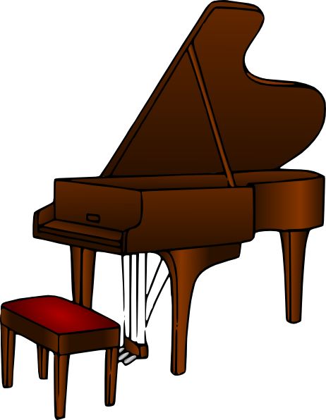 Piano Clip Art at Clker.com.