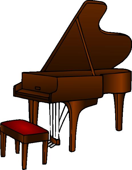 Piano Clip Art at Clker.com.