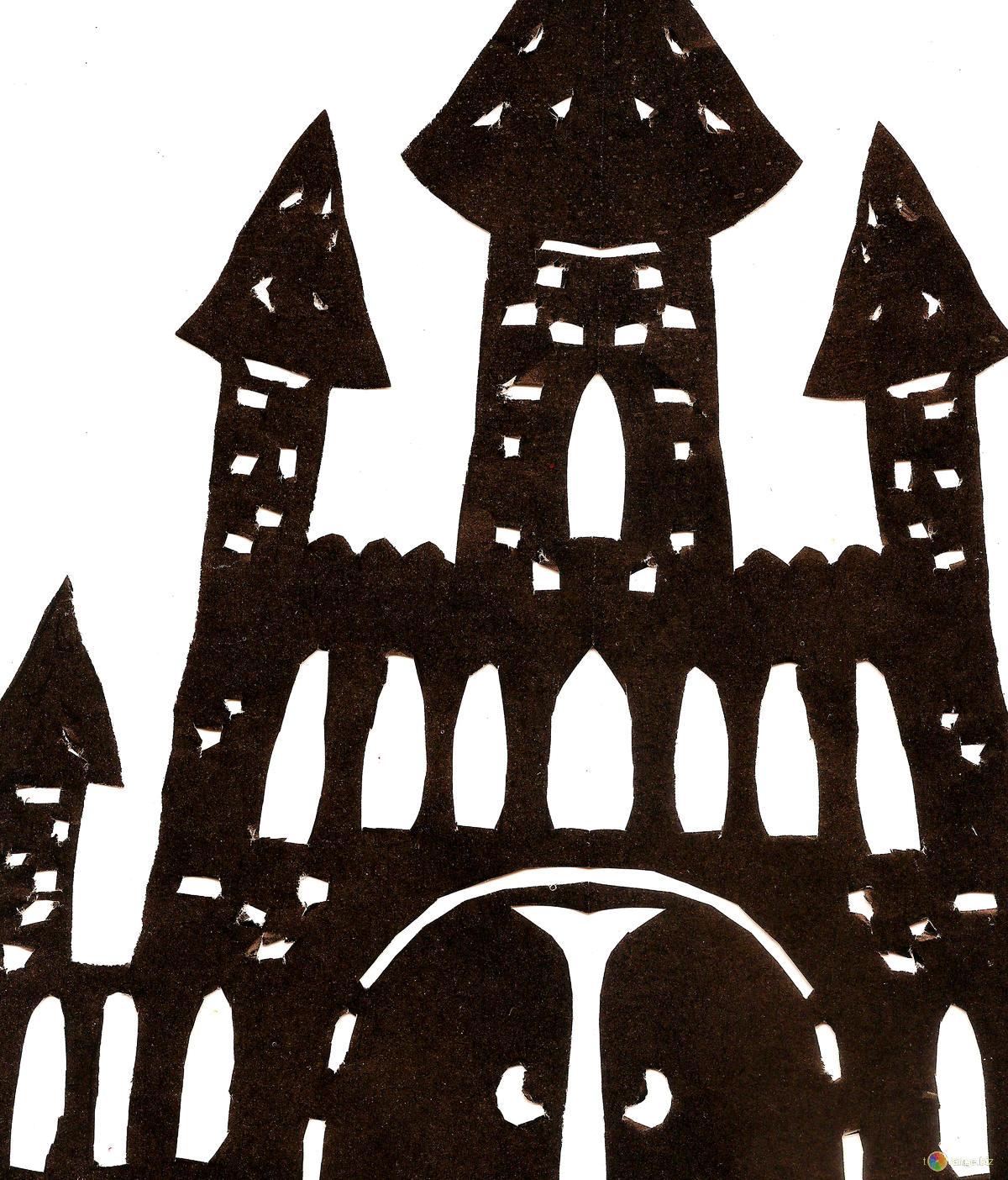 Disegni fortezza clipart halloween № 42666.
