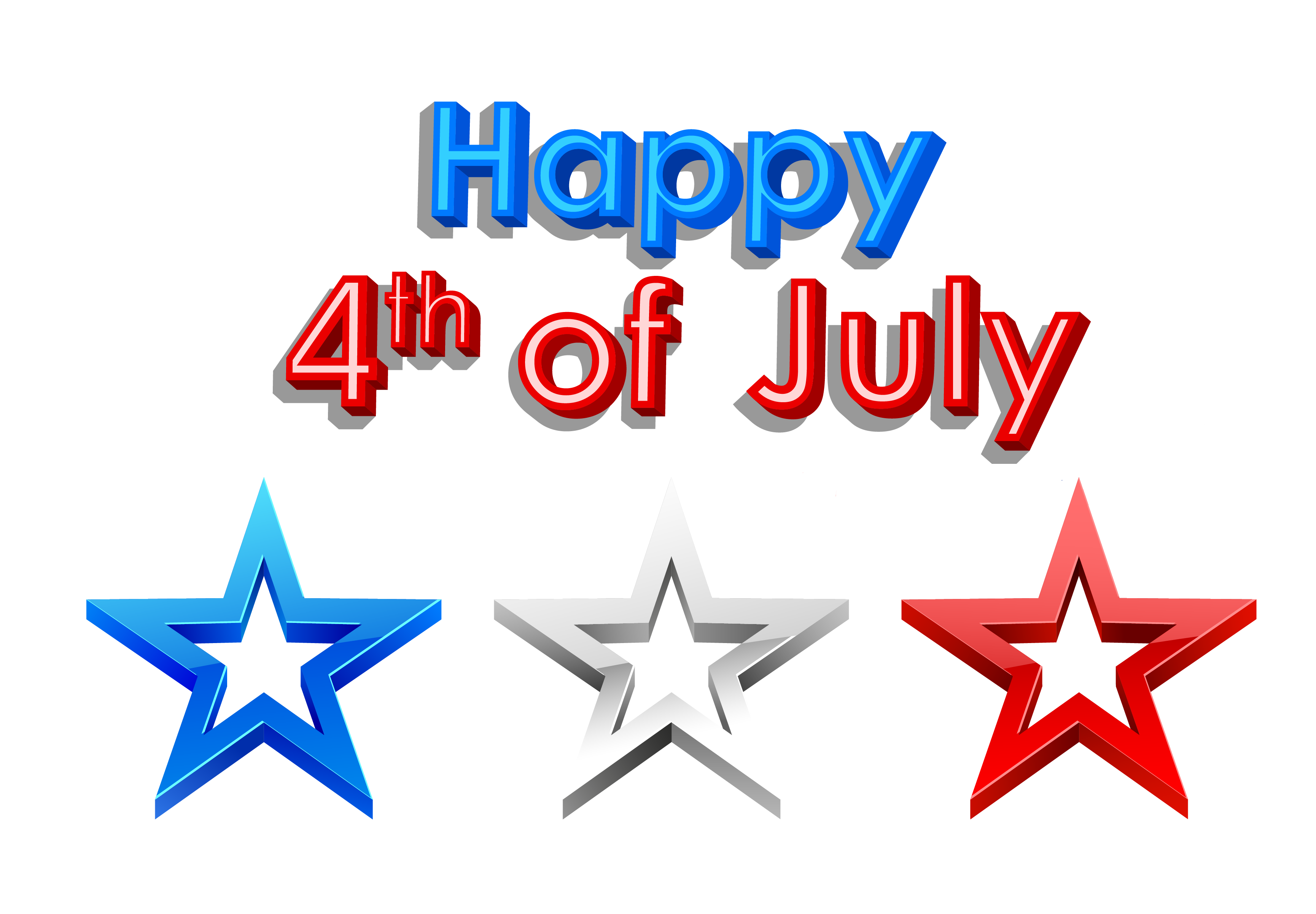 Forth of july clipart.