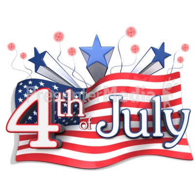Fourth of july clipart.