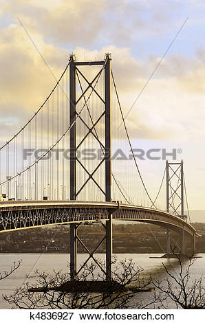 Picture of The Forth Road Bridge k4836927.