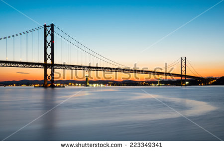 Forth Road Bridge Stock Photos, Royalty.