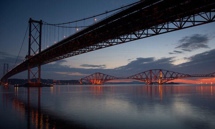 Forth Bridges.